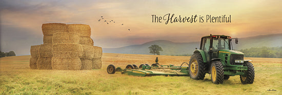 Lori Deiter LD786 - The Harvest is Plentiful - Tractor, Farm, Haystacks, Signs from Penny Lane Publishing