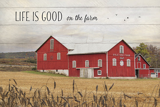 Lori Deiter LD798A - Life is Good on the Farm - Farm, Signs, Landscape from Penny Lane Publishing