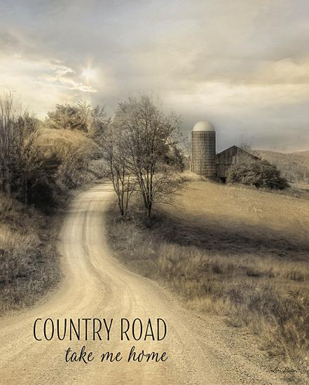 Lori Deiter LD855 - Country Road Take Me Home - Country, Road, Barn, Landscape, Inspirational, Farm Life, Signs, Photography from Penny Lane Publishing