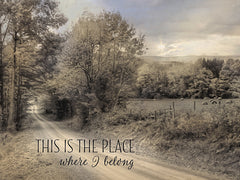 LD856 - This is the Place Where I Belong - 16x12
