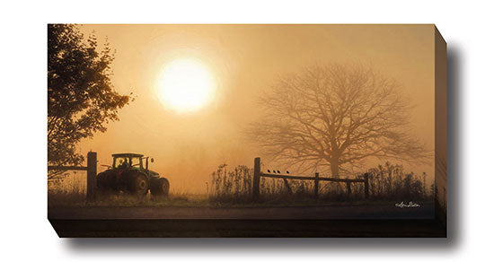 Lori Deiter LD896 - Start Your Engines - Farm, Tractor, Tree, Inspirational, Photography, Sign, Farm Life, Landscape from Penny Lane Publishing