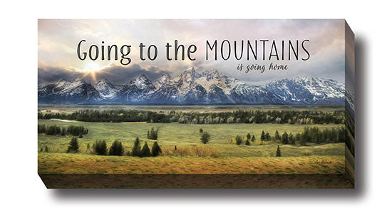 Lori Deiter LD917 - Going to the Mountains is Going Home - Mountains, Path, Trees, Landscape, Inspirational, Photography, Sign from Penny Lane Publishing