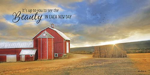 Lori Deiter LD953 - The Beauty in Each New Day - Farm, Barn, Inspirational, Country from Penny Lane Publishing