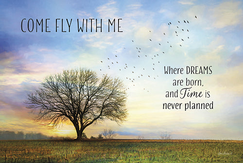 Lori Deiter LD976 - Come Fly with Me - Landscape, Trees, Inspirational, Country from Penny Lane Publishing