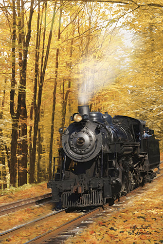 Lori Deiter LD982 - Fall Locomotive - Landscape, Fall, Train from Penny Lane Publishing