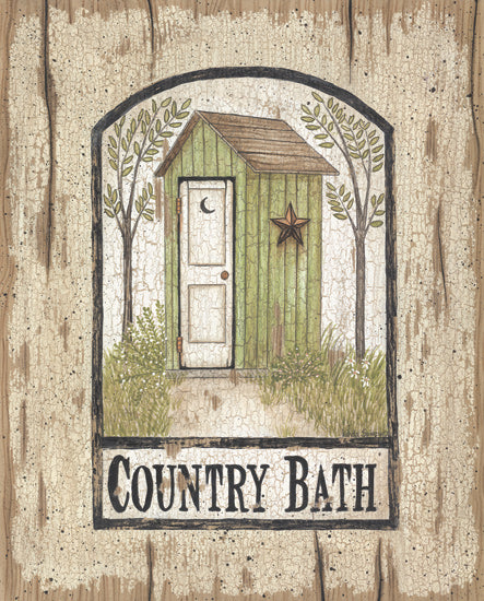Linda Spivey LS1157 - Barn Star Outhouse - Outhouse, Bath, Signs from Penny Lane Publishing