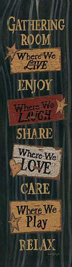 Linda Spivey LS1424 - Gathering Room  - Typography, Signs, Calligraphy, Barn Stars from Penny Lane Publishing