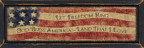Linda Spivey LS1484 - God Bless America - American Flag, Motivating, Antiques from Penny Lane Publishing