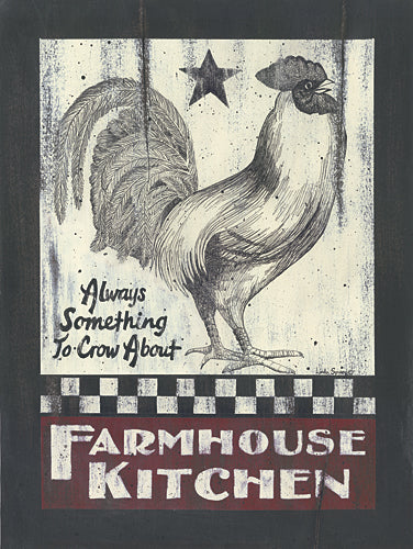 Linda Spivey LS1599 - Farmhouse Kitchen - Rooster, Kitchen, Folk Art, Sign, Animals, Humor, Farm Life from Penny Lane Publishing