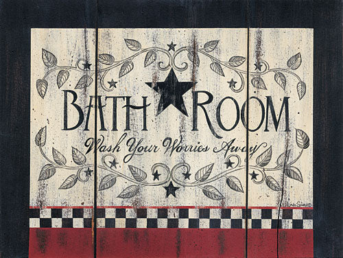 Linda Spivey LS1617 - Bathroom - Bath, Barnstar, Sign from Penny Lane Publishing