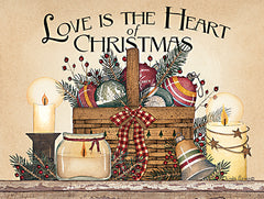 LS1819 - Love is the Heart of Christmas - 16x12
