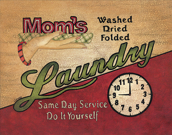 Linda Spivey LS558 - Mom's Laundry - Laundry, Mom, Wash, Signs from Penny Lane Publishing