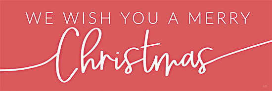 Lux + Me Designs LUX223A - LUX223A - We Wish You a Merry Christmas - 36x12 Wish You a Merry Christmas, Holidays, Red & White, Calligraphy, Signs from Penny Lane