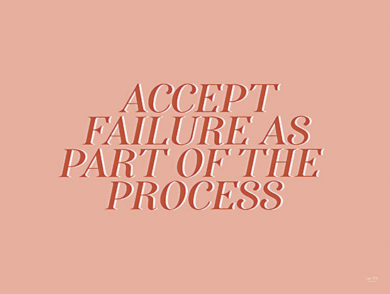 Lux + Me Designs LUX240 - LUX240 - Accept Failure - 16x12 Accept Failure, Motivational, Tween, Signs from Penny Lane