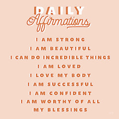 LUX241 - Daily Affirmations - 12x12