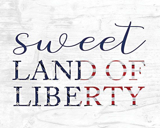 Lux + Me Designs LUX381 - LUX381 - Sweet Land of Liberty II - 16x12 Sweet Land of Liberty, America, USA, Patriotic, Signs from Penny Lane