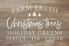 LUX386 - Farm Fresh Christmas Trees - 18x12