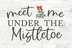LUX392 - Meet Me Under the Mistletoe - 18x12