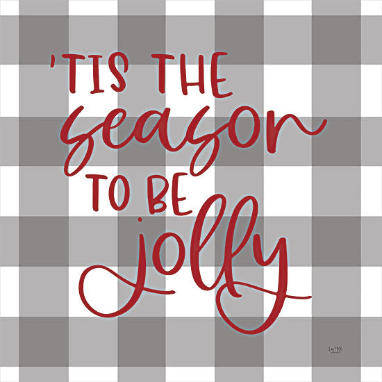 Lux + Me Designs LUX395 - LUX395 - 'Tis the Season - 12x12 Tis the Seasons, Holidays, Christmas, Gingham, Plaid, Calligraphy, Signs from Penny Lane
