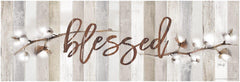 MA2520C - Cotton Stems - Blessed  - 36x12