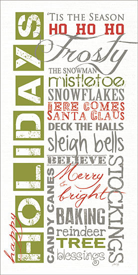 Marla Rae MA2614 - MA2614 - Happy Holidays  - 9x18 Signs, Typography, Holidays, Christmas from Penny Lane