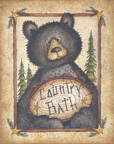 Mary Ann June MARY236 - Country Bath - Bear, Bath from Penny Lane Publishing