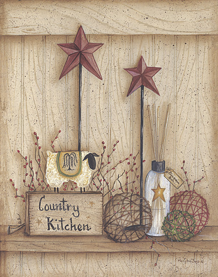 Mary Ann June MARY269 - Country Kitchen - Kitchen, Sheep, Barn Stars from Penny Lane Publishing
