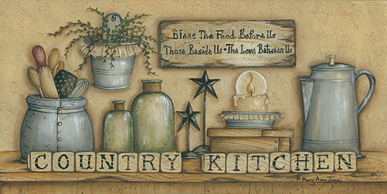 Mary Ann June MARY474 - County Kitchen - Kitchen, Still Life, Signs, Jars from Penny Lane Publishing