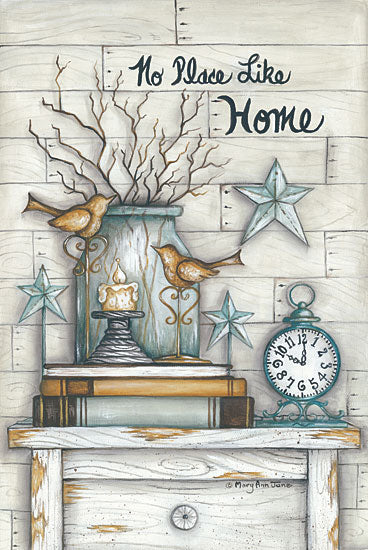 Mary Ann June MARY477 - No Place Like Home - Home, Signs, Birdhouse, Clock from Penny Lane Publishing