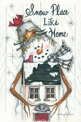 MARY534 - Snow Place Like Home - 12x18