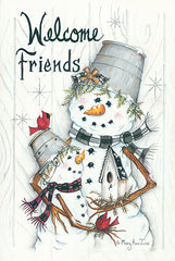 MARY535 - Welcome Friends… Snowmen - 12x18