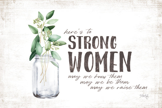 MAZ5576 - Here's to Strong Women - 18x12