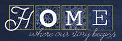 MAZ5609A - Home Where Our Story Begins - 36x12