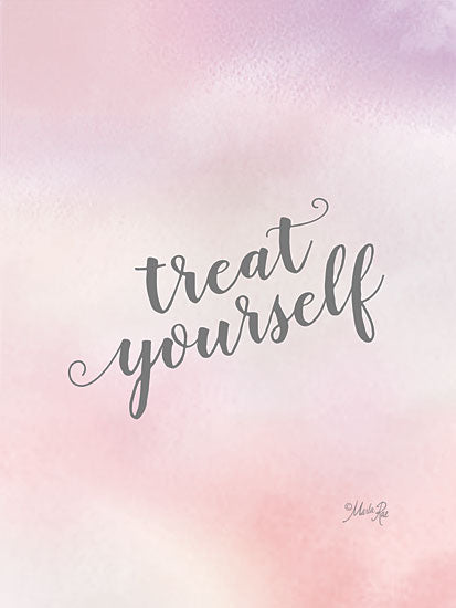 Marla Rae MAZ5727 - MAZ5727 - Treat Yourself - 12x16 Treat Yourself, Pastel, Tween, Motivational, Signs from Penny Lane