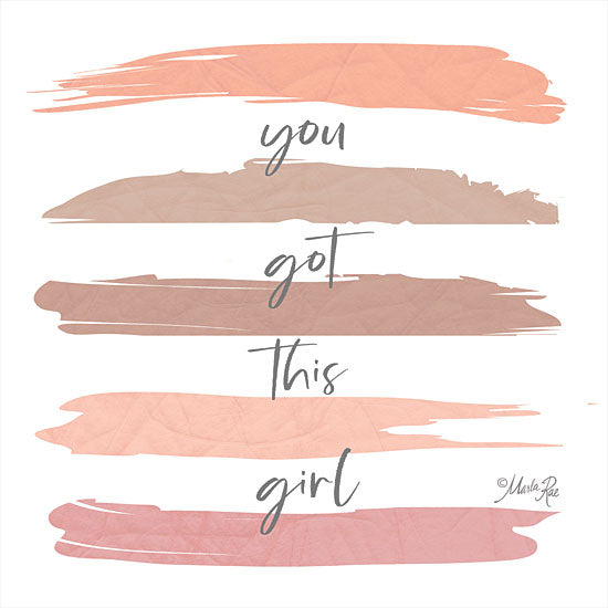 Marla Rae MAZ5743 - MAZ5743 - You Got This Girl - 12x12 You Got This Girl, Motivational, Tween, Signs from Penny Lane