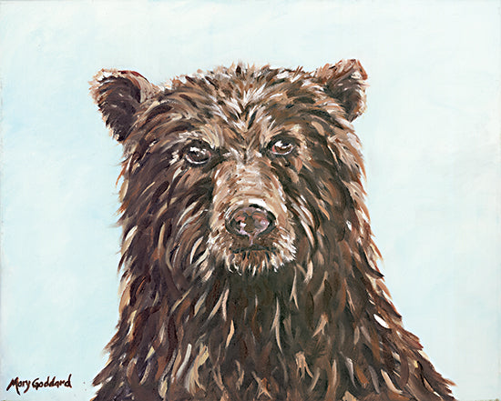 Mary Goddard MG117 - MG117 - Scout - 16x12 Bear, Wildlife, Portrait from Penny Lane