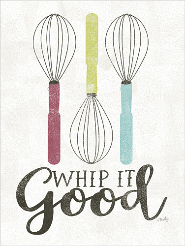 Misty Michelle MMD100 - Whip It Good - Kitchen, Whisks, Signs from Penny Lane Publishing