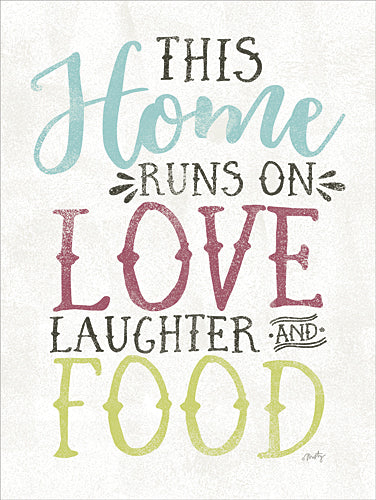 Misty Michelle MMD104 - Love, Food and Laughter - Kitchen, Home, Family from Penny Lane Publishing