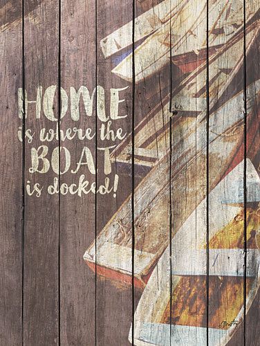 Misty Michelle MMD151 - Home is Where the Boat is Docked - Home, Boat, Sentiment, Signs from Penny Lane Publishing