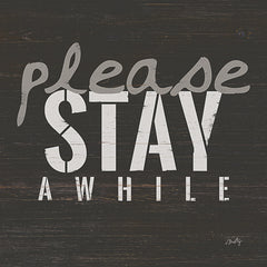 MMD157 - Please Stay Awhile - 12x12