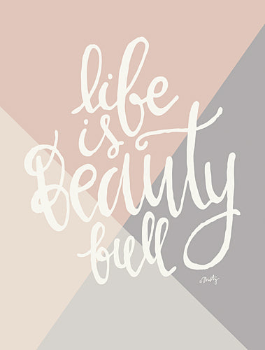 Misty Michelle MMD175 - Life is Beauty Full        - Tween, Typography, Signs from Penny Lane Publishing
