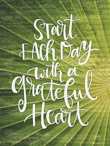 Misty Michelle MMD191 - Grateful Heart - Heart, Inspirational, Signs from Penny Lane Publishing