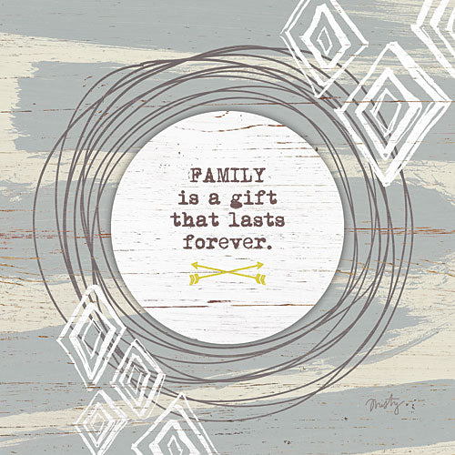 Misty Michelle MMD195 - Family is a Gift - Family, Inspirational, Signs from Penny Lane Publishing