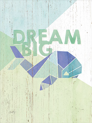 Misty Michelle MMD212 - Dream Big Whale - Whale, Origami, Signs from Penny Lane Publishing