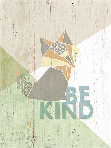 Misty Michelle MMD214 - Be Kind Fox - Fox, Origami, Signs from Penny Lane Publishing