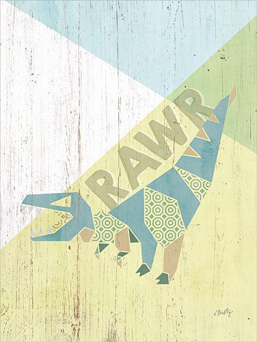 Misty Michelle MMD215 - Rawr Dinosaur - Dinosaur, Origami, Signs from Penny Lane Publishing