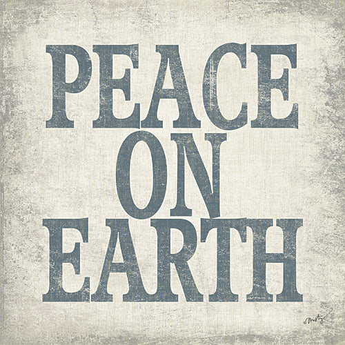 Misty Michelle MMD227 - Peace on Earth - Typography, Holiday, Signs from Penny Lane Publishing