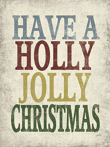 Misty Michelle MMD228 - Holly Jolly Christmas - Typography, Holiday, Signs from Penny Lane Publishing