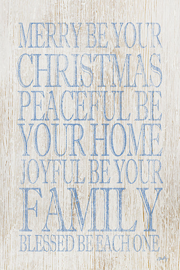 Misty Michelle MMD234 - Merry Be Your Christmas - Typography, Holiday, Family from Penny Lane Publishing