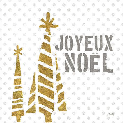 Misty Michelle MMD242 - Joyeux Noel - Holiday, Trees from Penny Lane Publishing